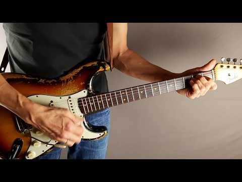 Pure clean singlecoil guitar sound with Strymon Big Sky reverb