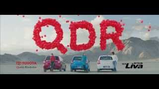 Toyota Liva QDR TVC(Oct 2013)-Latest Indian TV Ad