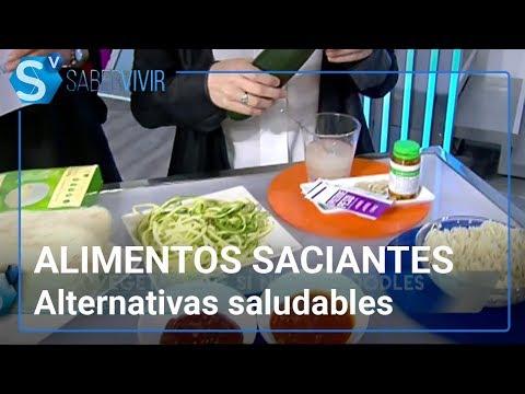 Alimentos saciantes y, ¿nutritivos? | Boticaria García responde en Saber Vivir