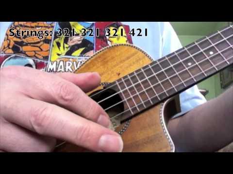 Simple Ukulele Picking Pattern YouTube Awesome Ukulele Picking Patterns