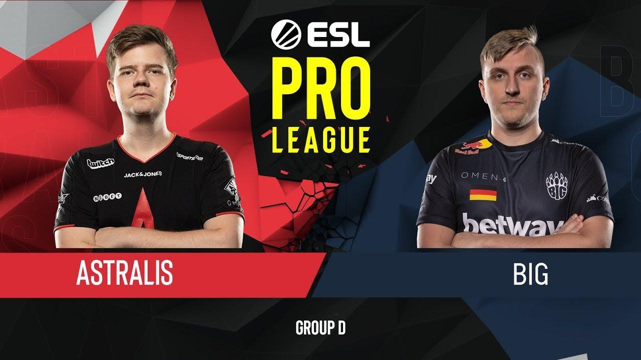 CS:GO - BIG vs. Astralis [Inferno] Map 2 - Group D - ESL Pro League Season 9 Europe