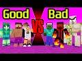 Monster School - Bad vs Good Monster : Minecraft Animation