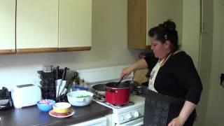 Arroz Con Pollo W Salsa Criolla Pt2- (peruvian Chicken & Brown Rice W Cilantro Sauce)