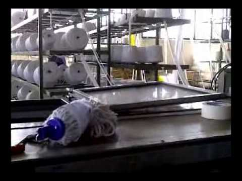 Mop Machine Mop Production Equipment Youtube