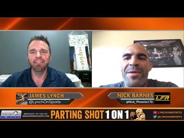 LFA 20's Nick Barnes talks Chad Curry matchup, Layoff & potential UFC jump