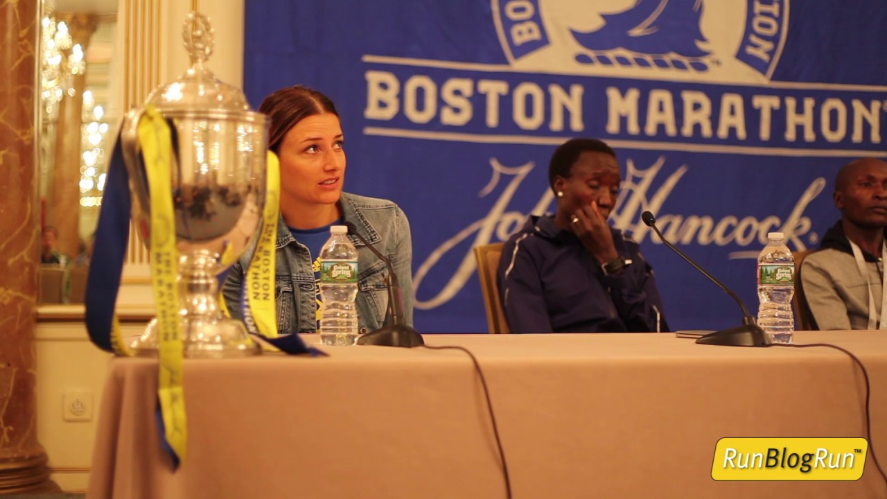 2017 Boston Marathon Closing Press Conference