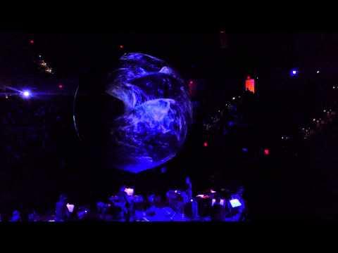 EARTH: Sufjan Stevens Planetarium at Walt Disney Concert Hall April 22, 2013