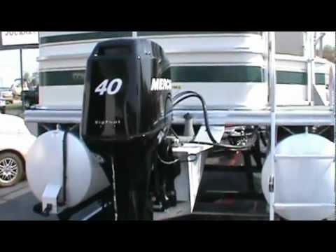 2007 Fisher 180 Pontoon.mpg