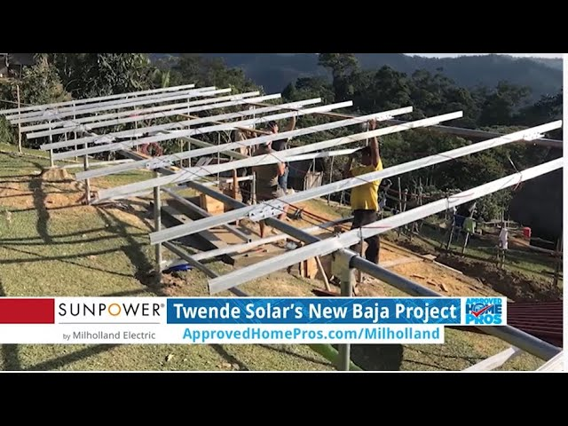 Twende Solar's New Baja Project