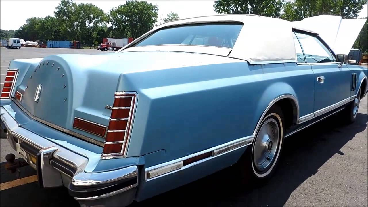 1978 lincoln continental a a machinery sales doovi. Black Bedroom Furniture Sets. Home Design Ideas