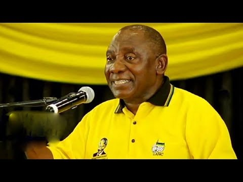 Ramaphosa addresses rally in Pretoria: 26 November 2017
