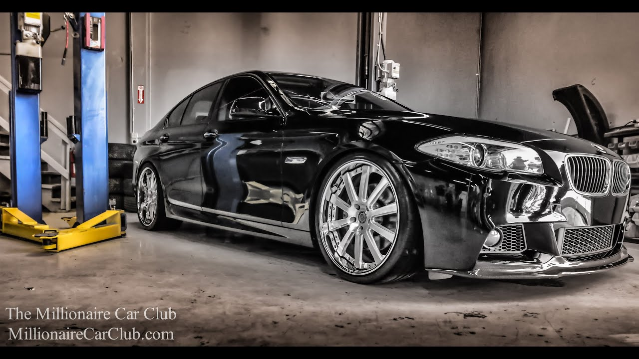 f10 bmw 550i hre performance wheels walk around youtube. Black Bedroom Furniture Sets. Home Design Ideas