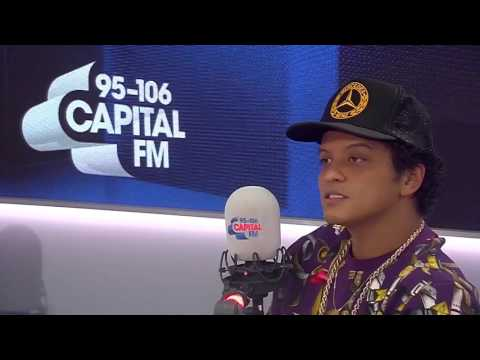 Bruno Mars Guesses English Phrases on Capital FM!