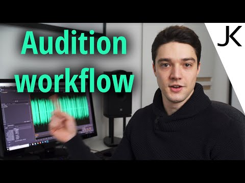 Post-Processing Podcasts, Voice-overs And Dialogue Recordings - Adobe Audition Workflow