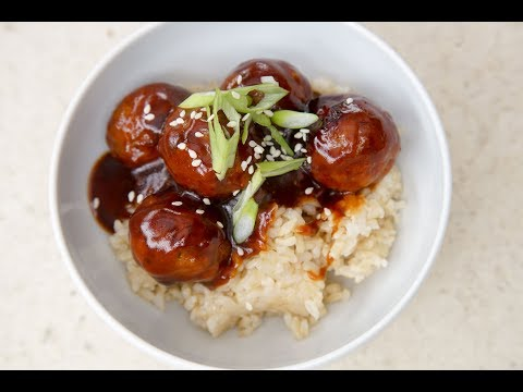 Sweet And Sour Meatballs By SAM THE COOKING GUY