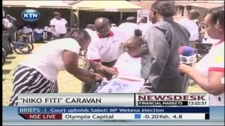 65 people with disability in North Rift benefit from wheelchairs and other assistive devices
