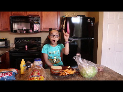 How to make THE PERFECT SANDWICH w| Zaria
