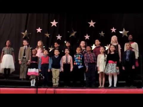 Good Counsel Academy Elementary Second and Third Grade Performance Christmas Concert 2015