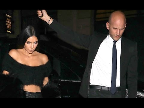 Kim Kardashian's Limo Driver Arrested
