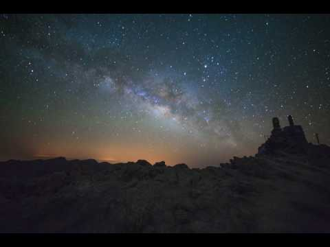 Milky Way Timelapse on La Palma