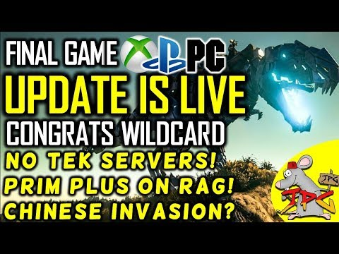 ARK IS FINALY FULLY RELEASED - DAY 0 INFO - PATCH SIZE AND NEW GAME MODE