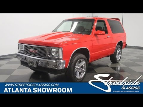1983 GMC Jimmy for sale | 4480-ATL