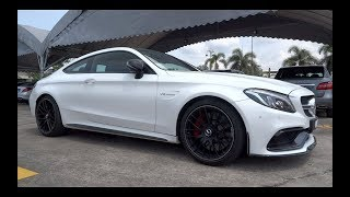 2017 Mercedes-AMG C 63 S Coupe Edition 1 Start-Up and Sound