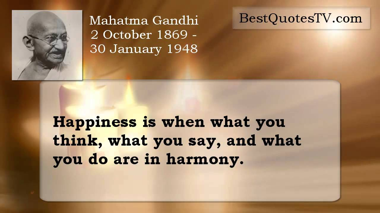 Mahatma Gandhi Quotes   YouTube