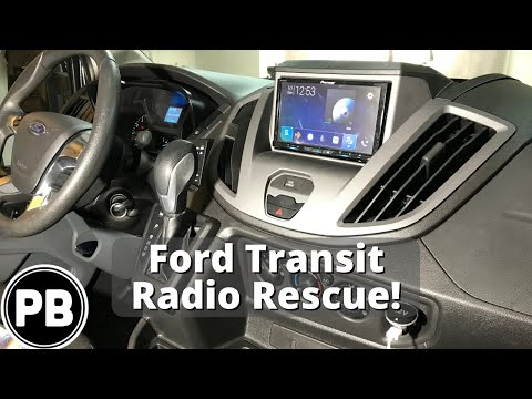 Ford Transit Radio Install Rescue