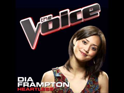 Dia Frampton - Heartless (The Voice Preformance) [Studio Version]