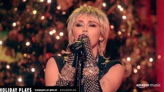 Miley Cyrus - Prisoner (Live - Holiday Plays Amazon Music)