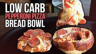 Pepperoni Pizza Bread Bowl Recipe Tutorial