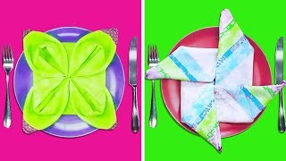 20 CUTE AND EASY WAYS TO FOLD NAPKINS