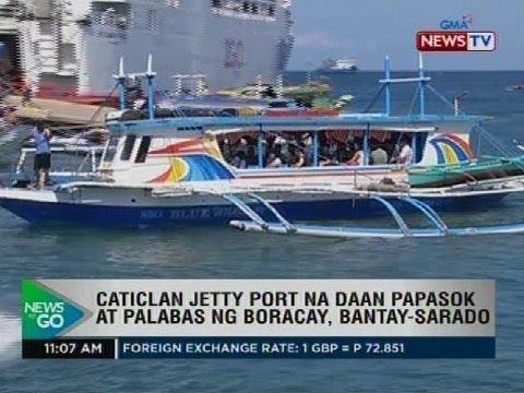 Caticlan Jetty Port na daan papasok at palabas ng Boracay, bantay-sarado