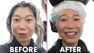 Bleaching My Hair For The First Time | I've Never Tried | Allure