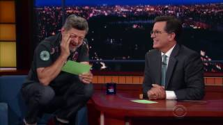 Gollum Reads Trumps Tweets on The Late Show