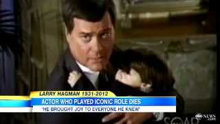 Larry hagman dead   Star of Dallas and I Dream of Jeannie dies at age 81 of Cancer