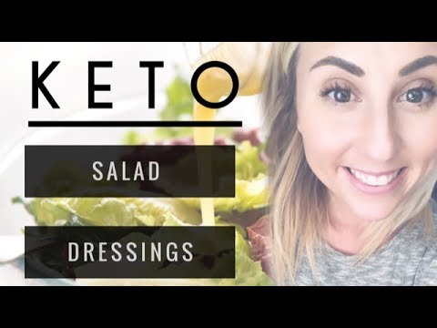 How to make: Salad dressing 3 recipes #lowcarb-Ashley Witmer