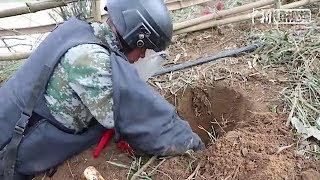 中越边境广西50平米竟搜排出10枚地雷