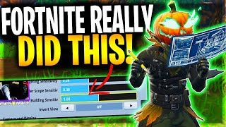 You Will Never Guess What Fortnite Did For Console Building On Fortnite!   AMAZING FORTNITE UPDATE!