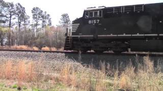 Riding side by side with an NS ES44AC NS E49 With Lots of K5HLL Horn action sit back and Enjoy