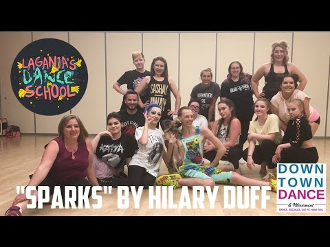 "#LaganjasDanceSchool | ""Sparks"" by Hilary Duff"