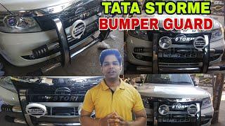 || Tata Storme  || Bumper Guard ||