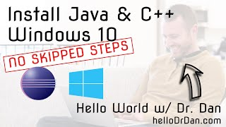 Java & C++11 (gcc/g++/MinGW64) in Eclipse Neon - Install on Windows 10 + First Programs in Java/C++
