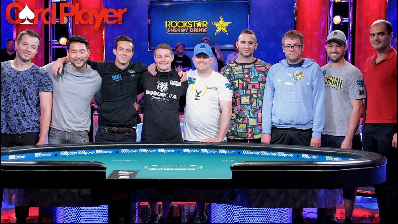 Wsop Table