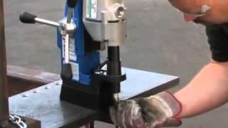 Taladro Magnético con Base Giratoria Hougen HMD904S