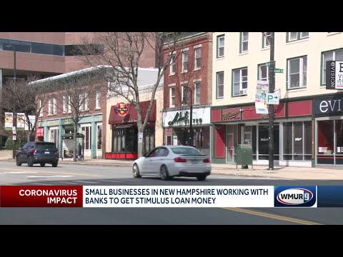 Small Businesses In NH Work With Banks To Get Stimulus Money