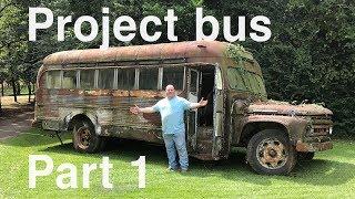 Junkyard Life Project Bus: 1964 Ford B600 Part 1