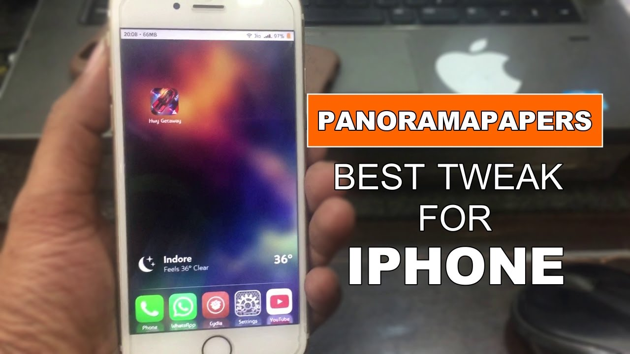 Supercharge Your Iphone Wallpaper With Panoramapapers Tweak Ios 10 10 2