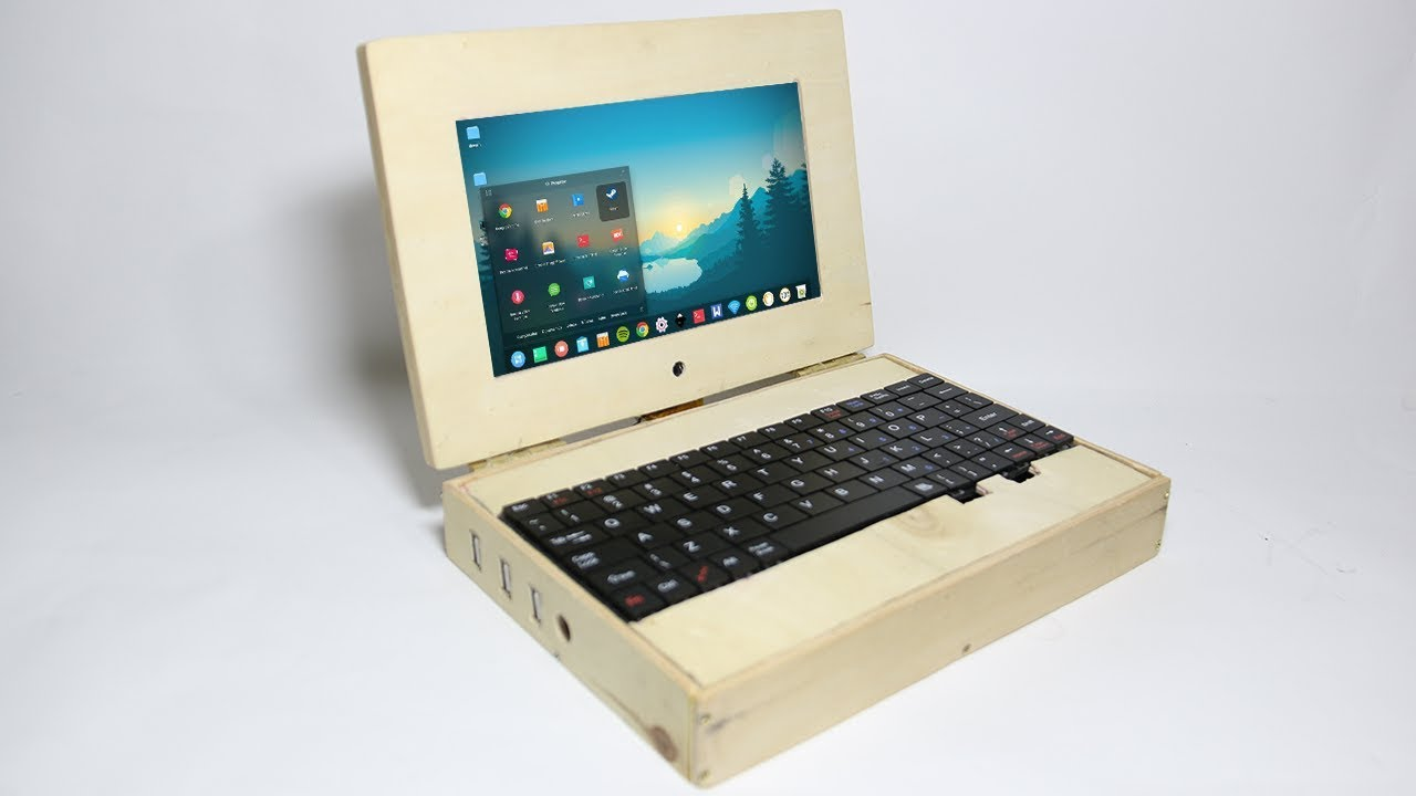 Building A Raspberry Pi Laptop - Out Of Wood